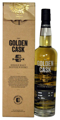 The Golden Cask Tomatin 20 Years
