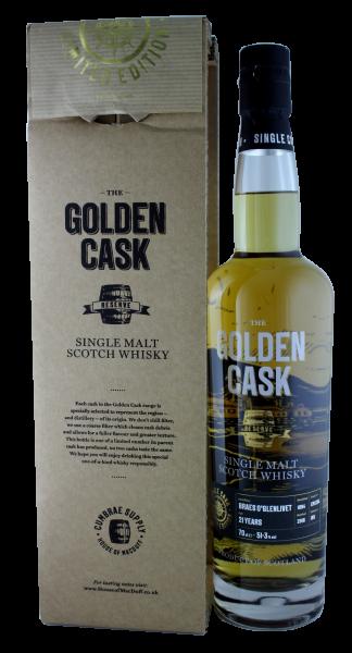 The Golden Cask Braes O´Glenlivet 21 Years