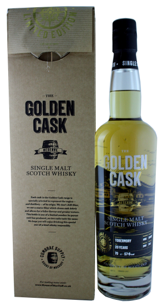 The Golden Cask Tobermory 20 Years