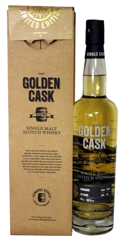 The Golden Cask Bowmore 15 Years