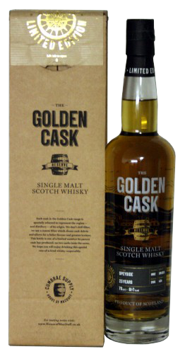 The Golden Cask Speyside Distillery 23 Years