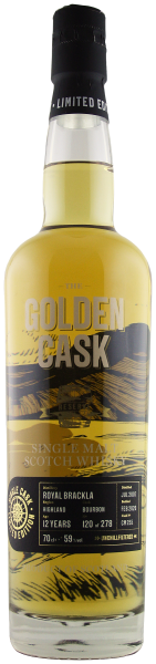 The Golden Cask Royal Brackla 12 Years