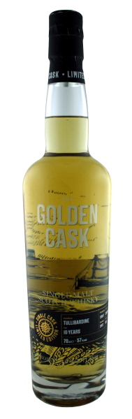 The Golden Cask Tullibardine 10 Years