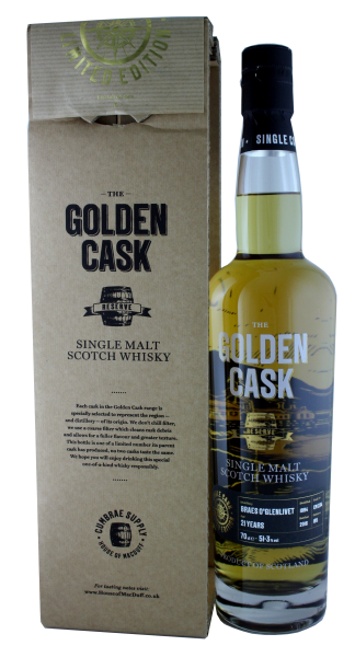The Golden Cask Braes O´Glenlivet 21 Years