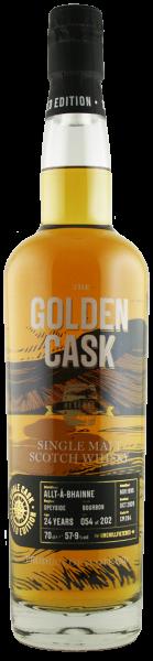 The Golden Cask Allt-Á-Bhainne 24 Years