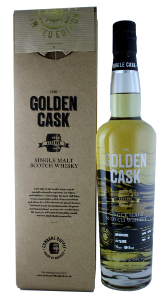The Golden Cask Bowmore 16 Years