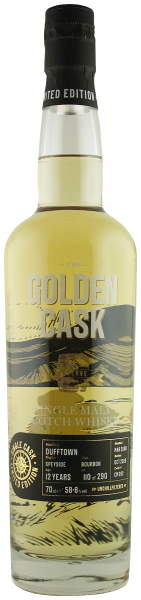 The Golden Cask Dufftown 12 Years