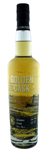 The Golden Cask Miltonduff 8 Years