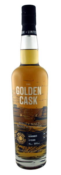 The Golden Cask Benrinnes 21 Years